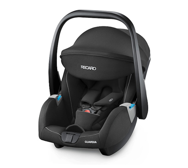 De RECARO Guardia- Group 0+ Performance Black
