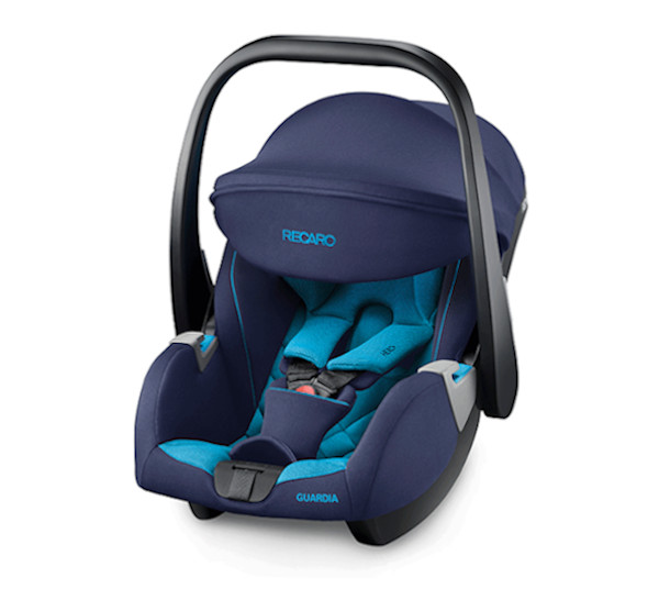 De RECARO Guardia- Group 0+ Xenon Blue