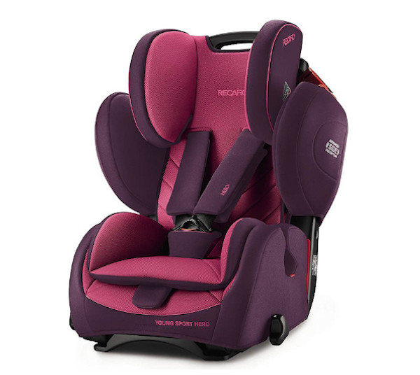 De RECARO Young Sport Hero - Groep I-III Power Berry