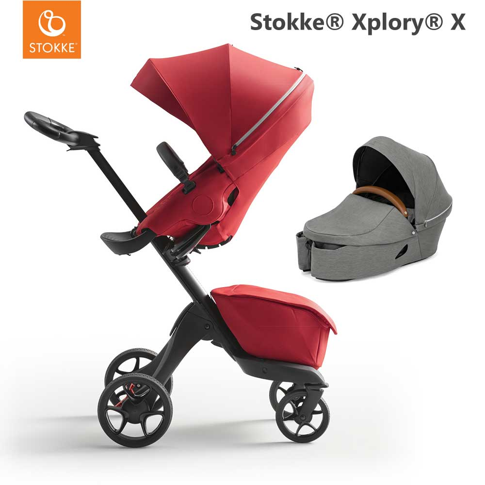 Stokke_Xplory_X_Ruby_Red_With_Carry_Cot_Modern_Grey_6LS.jpg