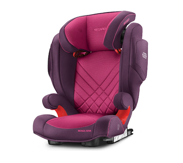 De RECARO Monza Nova 2 Seatfix - Groep II-III Power Berry