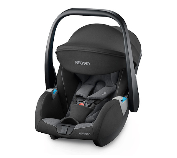 De RECARO Guardia- Group 0+ Carbon Black