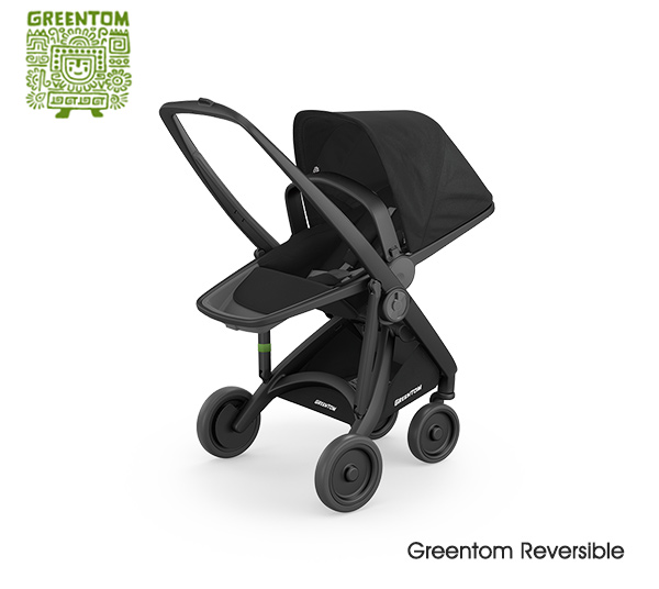Greentom Reversible Black- Black