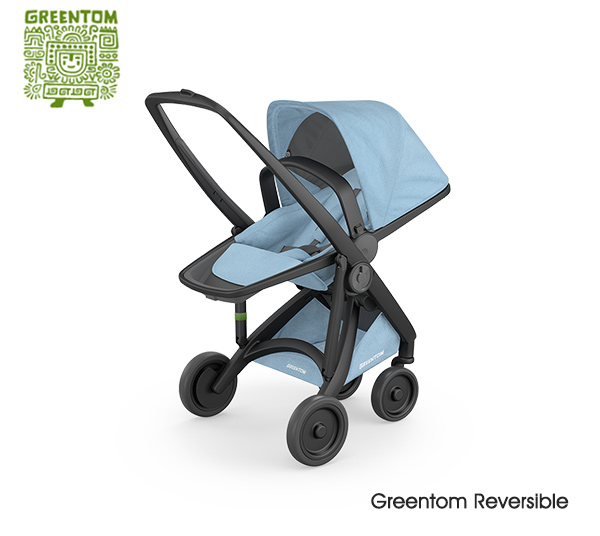 Greentom Reversible Black- Sky