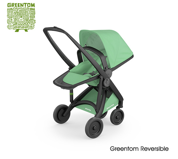 Greentom Reversible Black- Mint