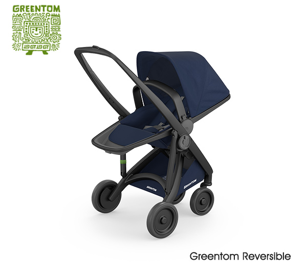 Greentom Reversible Black- Blue