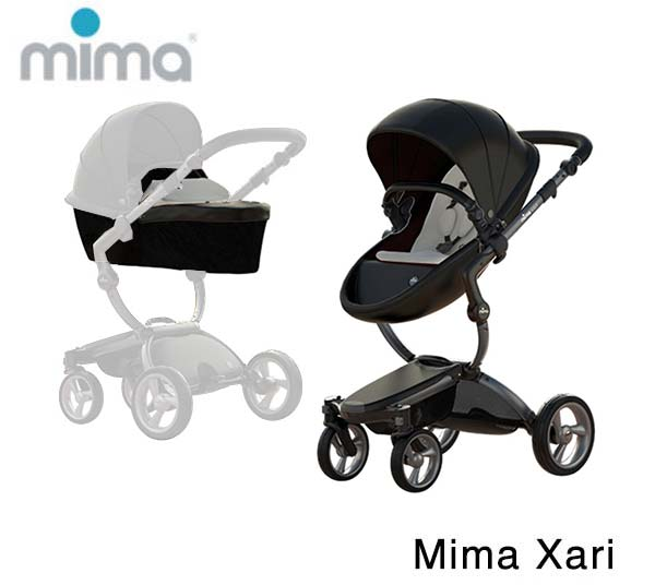 Mima Xari Graphite Grey- Black- Stone White