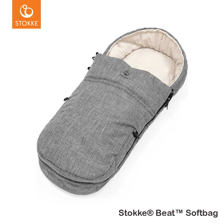 Stokke® Beat™ Softbag Black Melange