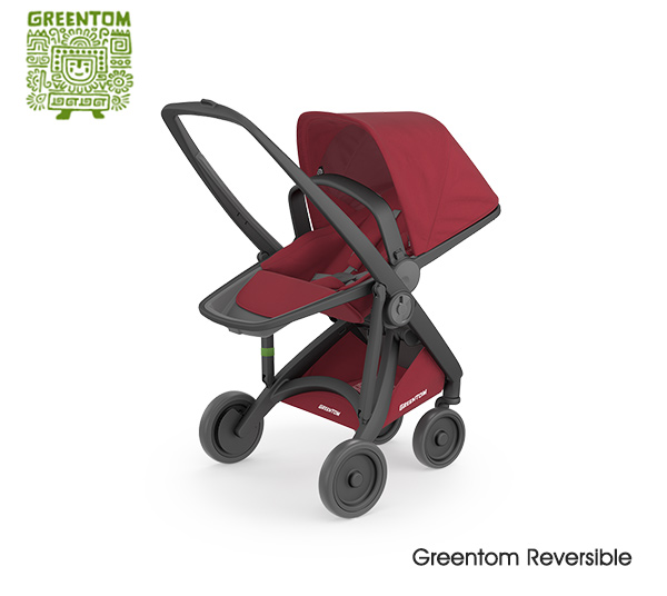 Greentom Reversible Black- Cherry