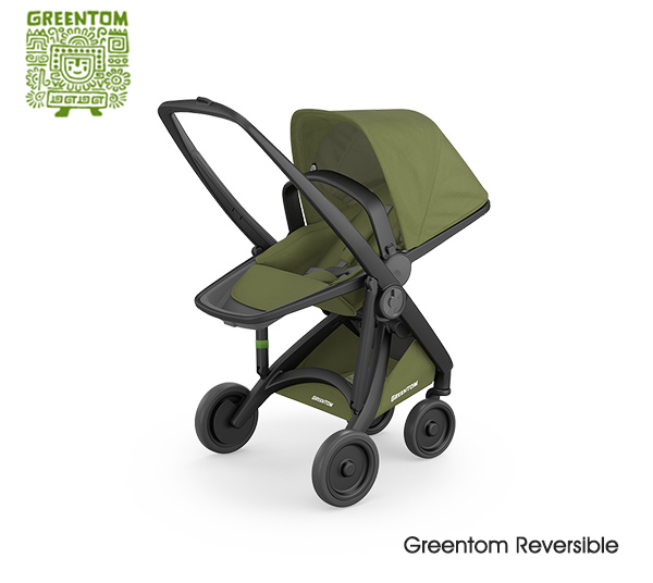 Greentom Reversible Black- Olive