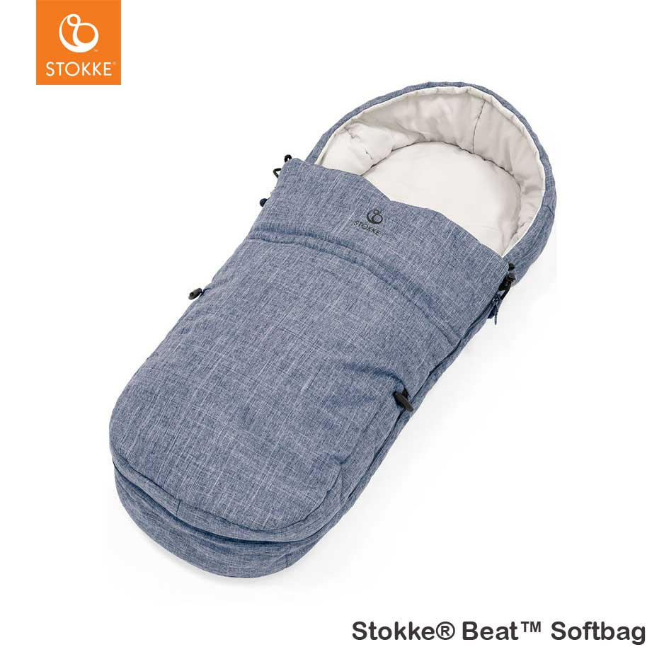 Stokke® Beat™ Softbag Blue Melange