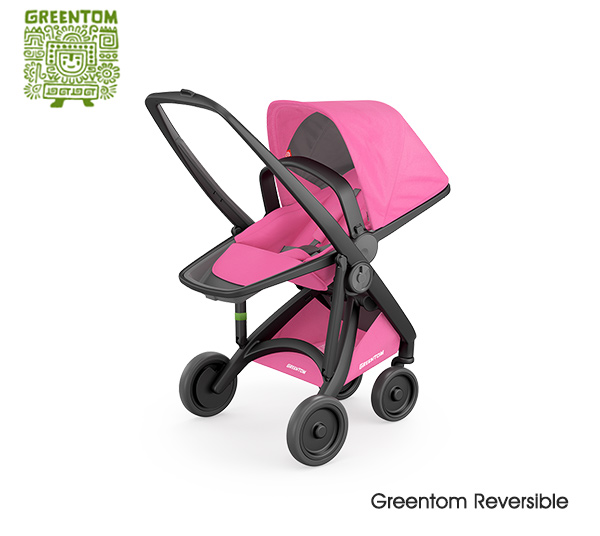 Greentom Reversible Black- Pink