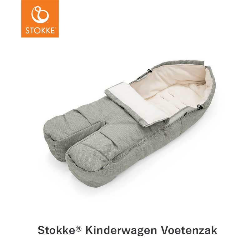 Stokke® Voetenzak- Brushed Grey