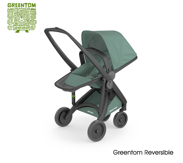 Greentom Reversible Black- Sage
