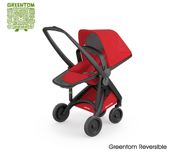 Greentom Reversible Black- Red