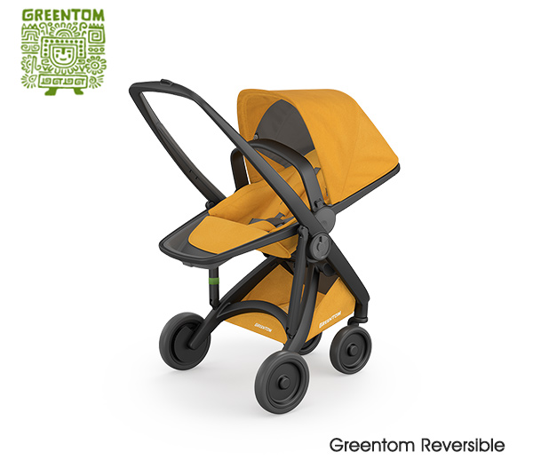Greentom Reversible Black- Honey