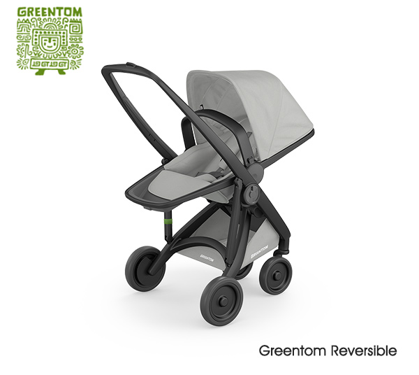 Greentom Reversible Black- Grey