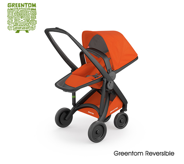 Greentom Reversible Black- Orange
