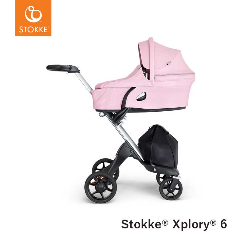 Z6L_Kinderwagen_Stokke_Xplory_6_Silver_Black_LotusPink_with_carrycot.jpg