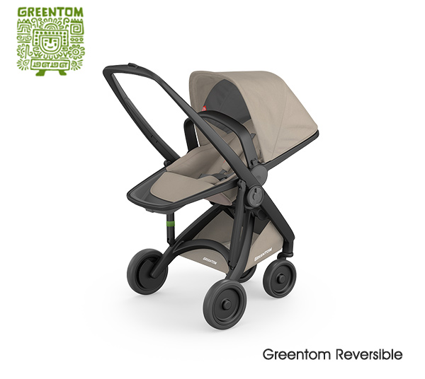 Greentom Reversible Buggy Black - Sand